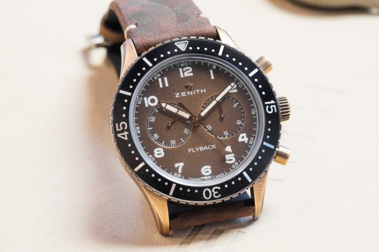 Introducing: The Zenith Pilot Cronometro Tipo CP-2 Flyback (Live Pics & Pricing)