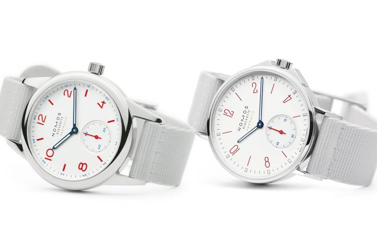 Introducing: Two New 'Siren White' Dial Additions To The NOMOS Aqua Series