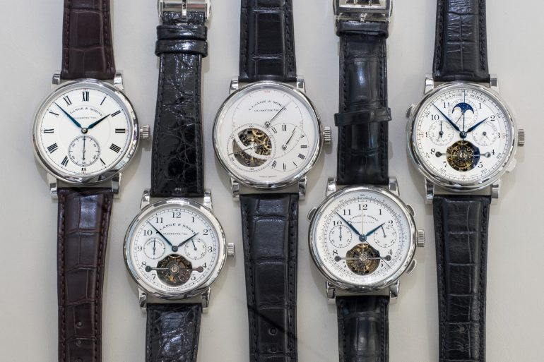 Just Because: All Five A. Lange & Söhne 'Pour le Mérite' Watches In The Same Place, At The Same Time