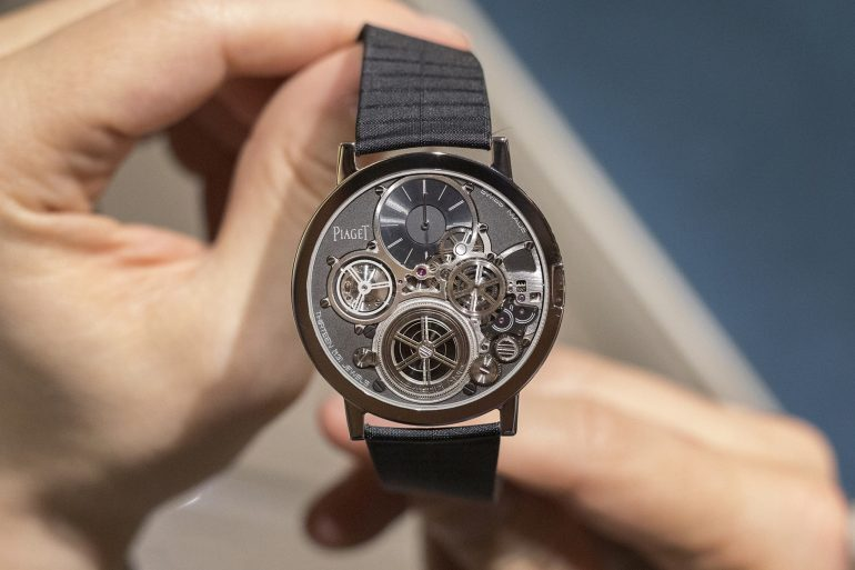 Just Because: That Time I Saw The Insanely Thin Piaget Altiplano Ultimate Concept Watch In The Metal