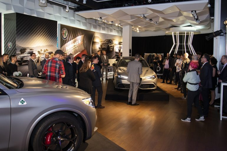 Photo Report: Celebrating A Pair Of Limited Edition Cars With Alfa Romeo