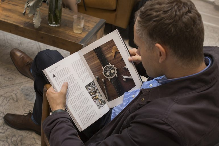 Photo Report: The  Magazine, Volume 2, Launch Party