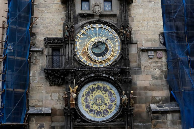 Recommended Reading: Prague's 600-Year-Old Astronomical Clock Is Stopped For Repairs