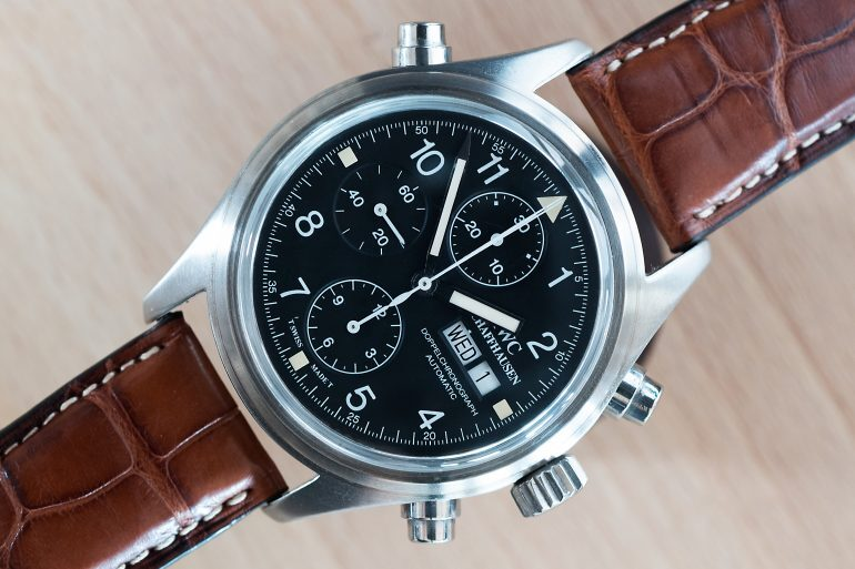 Technical Perspective: The Split–Seconds Caliber 79230 And The Original IWC Doppelchronograph Pilot's Watch