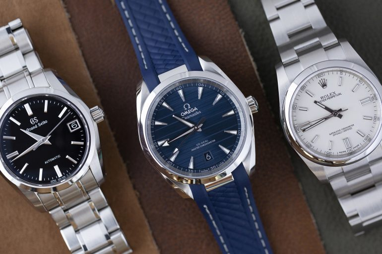 Three On Three: Comparing Entry-Level, In-House Automatics From Grand Seiko, Omega, And Rolex