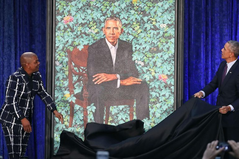 Watch Spotting: Former President Barack Obama Wearing A Rolex Cellini In His Official Portrait