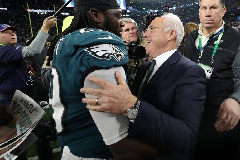 Watch Spotting: Philadelphia Eagles Owner Jeffrey Lurie Wearing An A. Lange & Söhne 1815 As They Win Super Bowl LII
