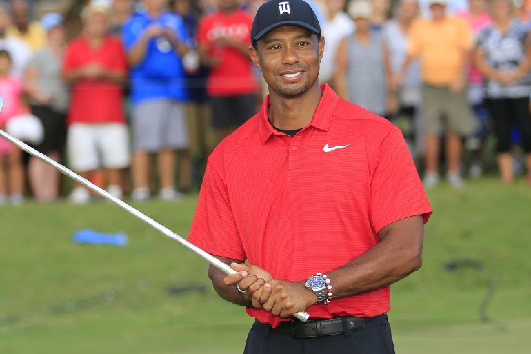 Watch Spotting: Tiger Woods Wins The 2018 PGA Tour Championship Wearing a Rolex Deepsea